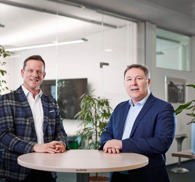 ENOVA Geschäftsführung Ing. Markus Riedl, MBA und Ing. Karl Rockenschaub